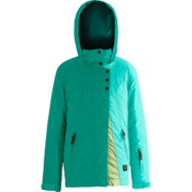 Orage Kella Girls Ski Jacket, Dark Mint, medium