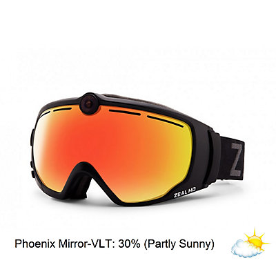 Zeal Optics HD2 Camera Goggles, Phoenix Rising-Phoenix Mirror, viewer