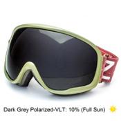 Zeal Optics Forecast Goggles, Dispatch Green-Dark Grey Polarized, medium