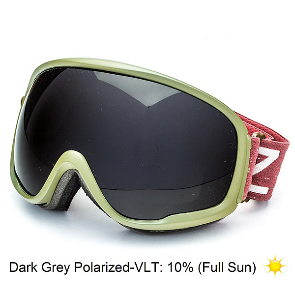 Zeal Optics Forecast Goggles, Dispatch Green-Dark Grey Polarized, 600