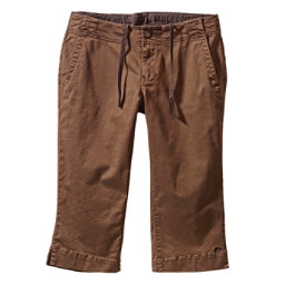 KAVU Avalon Chop Capri Womens Shorts, Brown, 256