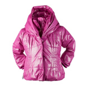 Obermeyer Ingenue Toddler Girls Ski Jacket, Wild Berry Sparkle, medium