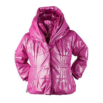 Obermeyer Ingenue Toddler Girls Ski Jacket, Iris Purple, viewer