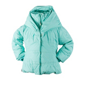 Obermeyer Ingenue Toddler Girls Ski Jacket, Mint, medium