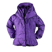 Obermeyer Ingenue Toddler Girls Ski Jacket, Iris Purple, medium
