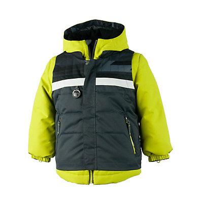 Obermeyer Grom Toddler Boys Ski Jacket, El Wolf Print, viewer