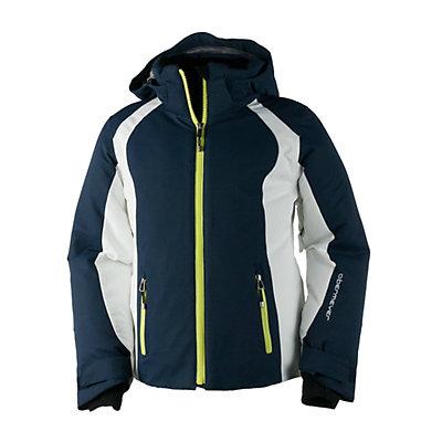 Obermeyer Sami Girls Ski Jacket, Blue Iris, viewer