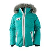 Obermeyer Reed Girls Ski Jacket, Wintergreen, medium