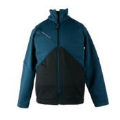 Obermeyer Copper Fleece Boys Jacket, Slate Blue, medium