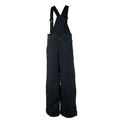 Obermeyer Surface Suspender Husky Teen Boys Ski Pants, Black, viewer
