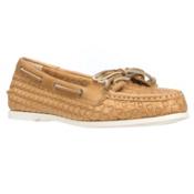 Sperry Audrey Woven Womens Shoes, Gold Woven, medium
