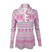 Obermeyer Cabin Pullover Womens Sweater, Wild Berry, medium
