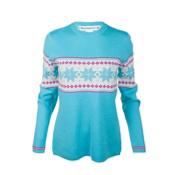 Obermeyer Norway Womens Sweater, Ocean, medium