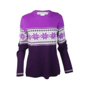Obermeyer Norway Womens Sweater, Acai, medium