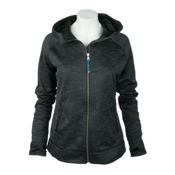 Obermeyer Freebird Hoodie Womens Hoodie, Black, medium