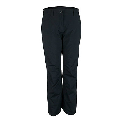 Obermeyer Jewel Jean Short Womens Ski Pants, Black, viewer