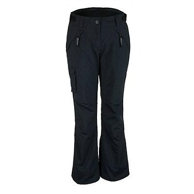 Obermeyer Canyons Womens Ski Pants, Black, viewer