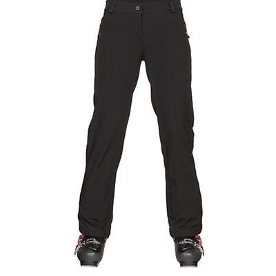 Obermeyer Summit Softshell Womens Ski Pants, Black, viewer