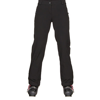 Obermeyer Summit Softshell Womens Ski Pants, Black, viewer
