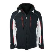 Obermeyer Ultimo Mens Insulated Ski Jacket, Black, medium