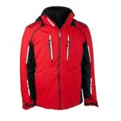 Obermeyer Ultimate Mens Insulated Ski Jacket, True Red, medium