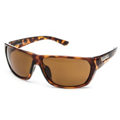 SunCloud Feedback Sunglasses, Tortoise-Brown Polarized, medium