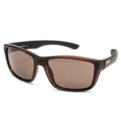 SunCloud Mayor Sunglasses, Burnished Brown-Brown Polarized, medium