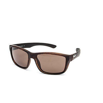SunCloud Mayor Sunglasses, Matte Black-Gray Polarized, viewer