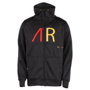 Armada Grey Stone Mens Hoodie, Gold, medium