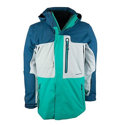 Obermeyer Oxnard Mens Insulated Ski Jacket, Azul, viewer