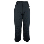 Obermeyer Keystone Shell Long Mens Ski Pants, Black, medium
