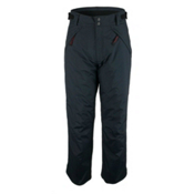 Obermeyer Brighton Short Mens Ski Pants, Black, medium