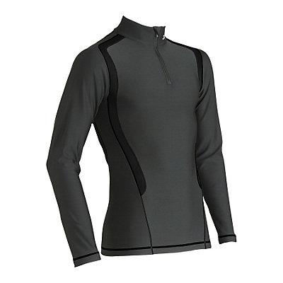 CW-X Insulator Web Mens Long Underwear Top, Black, viewer