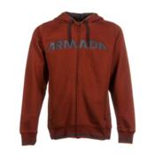 Armada Represent Hoodie, Rust, medium