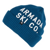 Armada Bloke Beanie Hat, Blue, medium