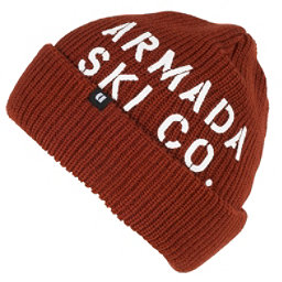 Armada Bloke Beanie Hat, Rust, 256