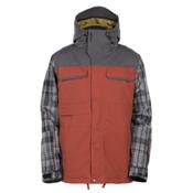 Armada Prospect Mens Insulated Ski Jacket, Charcoal, medium