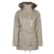 Armada Lynx Womens Insulated Ski Jacket, Khaki, medium