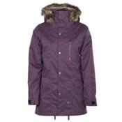 Armada Lynx Womens Insulated Ski Jacket, Plum, medium