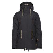 Armada Yosemite Womens Insulated Ski Jacket, Black, medium