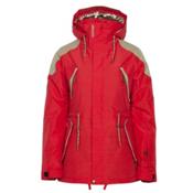 Armada Yosemite Womens Insulated Ski Jacket, Poppy, medium