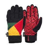 Armada Delta Gore-Tex Gloves, Rasta, medium