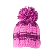 Obermeyer Ski School Knit Toddlers Hat, Neo Pink, medium