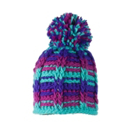 Obermeyer Ski School Knit Toddlers Hat, Wintergreen, medium
