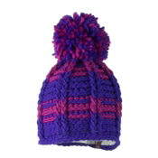 Obermeyer Ski School Knit Toddlers Hat, Iris Purple, medium
