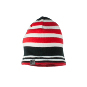 Obermeyer Traverse Knit Kids Hat, Lava, medium