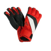 Obermeyer Alpine Kids Gloves, Lava, medium