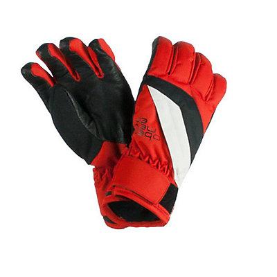 Obermeyer Alpine Teen Boys Gloves, Black, viewer