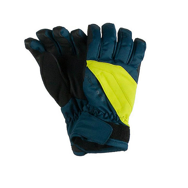 Obermeyer Alpine Teen Boys Gloves, Slate Blue, 600
