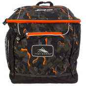 High Sierra Bucket Ski Boot Bag, Electric Camo-Mercury, medium